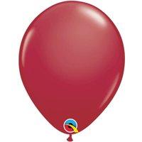 Qualatex 91184 11 in. Latex Balloon, Maroon