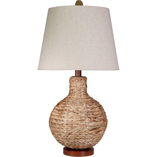 Style craft circular rattan table lamp walmart style craft circular rattan table lamp aloadofball Choice Image