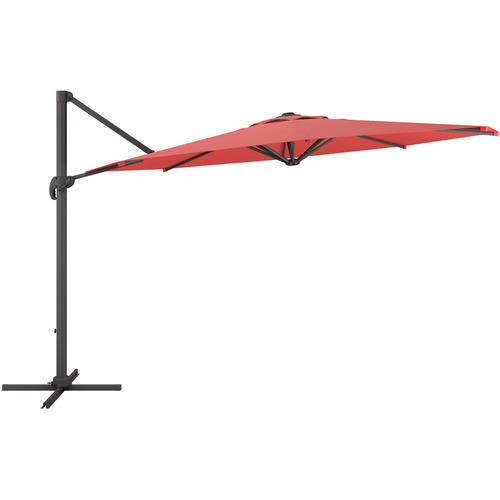 CorLiving Deluxe Offset Patio Umbrella, Multiple Colors by CorBrands