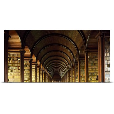 Great Big Canvas Irish Image Collection Poster Print Entitled Thomas Burgh Library  Trinity College  Dublin  Ireland