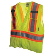 VIKING 4XL/5XL Mesh Safety Vest, Green, U6125G-4XL/5XL