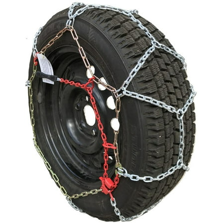Snow Chains P165/80R15 P165/80 15 TUV Diamond Tire Chains set of 2 - image 5 of 5