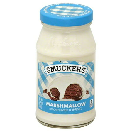 - (4 Pack) SmuckerâÂÂsàMarshmallow Flavored Spoonable Ice Cream Topping, 12.25-Ounce