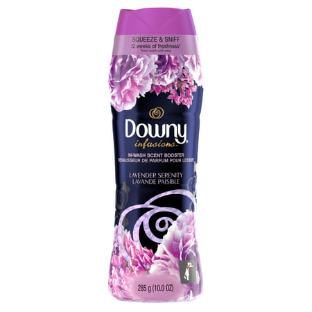 Downy Infusions In-Wash Scent Booster Beads, Lavender Serenity, 21 Loads 10 oz