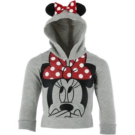 Toddler Minnie Mouse Hoodie with Bow and Ears,  - Batman Hoodie With Ears