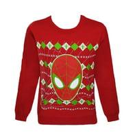 Marvel Spider-Man Caught In A Web Pullover Sweatshirt | S