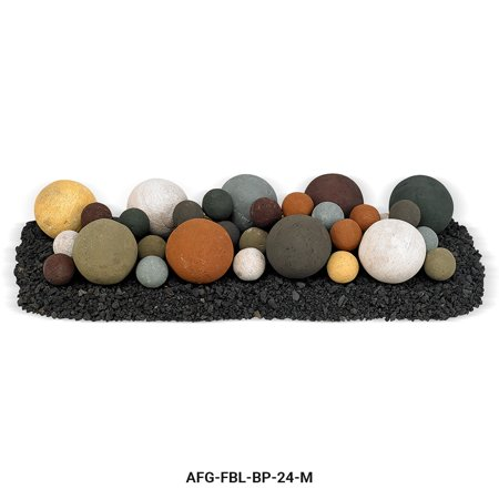Beach Pebble Lite Stone Ball Set - Mixed