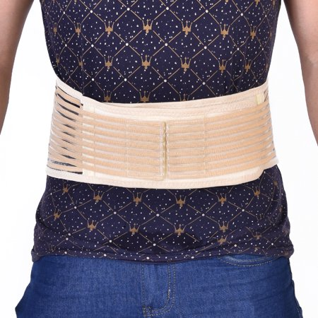 Peahefy Self-heating Magnetic Therapy Waist Belt Back Brace Lumber Support Breathable Unisex,Waist Support, Self-Heating Waist Belt - image 5 of 8