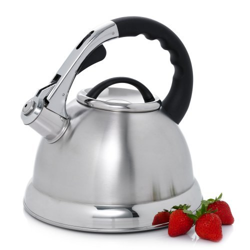Creative Home Camile 3-qt. Whistling Tea Kettle (Set of 4)
