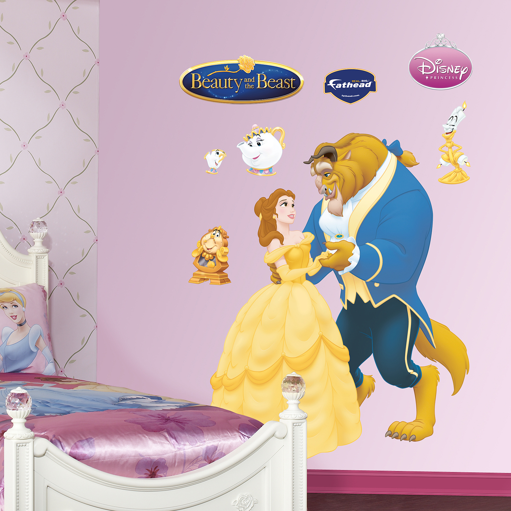 Beauty and the Beast Fathead