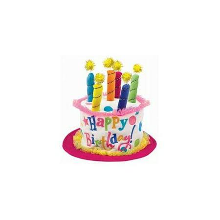 Astounding Girl Birthday Cake Hat Walmart Com Walmart Com Personalised Birthday Cards Arneslily Jamesorg