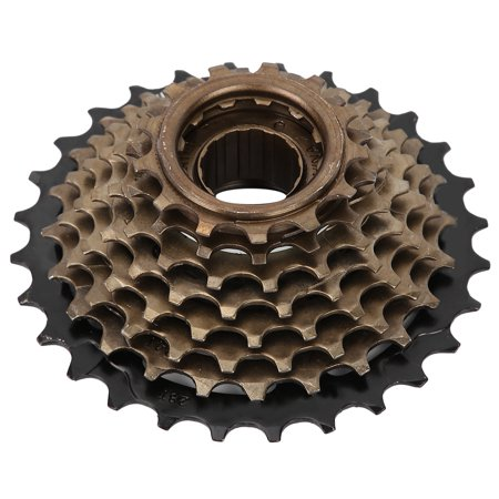 Ejoyous Bicycle Freewheel Cassette Sprocket 6 Speed 14T-28T Mountain Bike Replacement Accessory,Freewheel, Bike Cassette 6 Speed - image 5 of 7