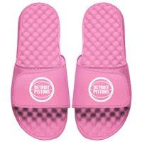 Detroit Pistons ISlide Women's Primary Logo Slide Sandals - Pink
