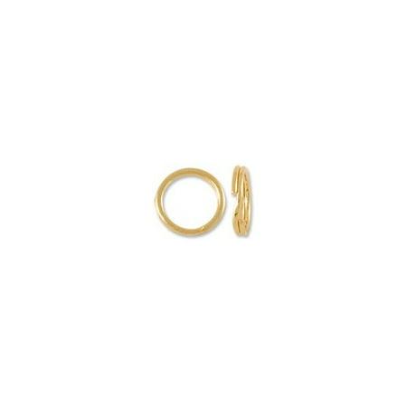 Split Ring 5mm 14 Karat Yellow - Large Split Rings