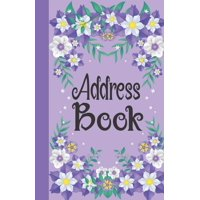 Address Book: Birthdays & Address Book for Contacts, Phone Numbers, Addresses, Email, Social Media & Birthdays (Address Books) (Paperback)