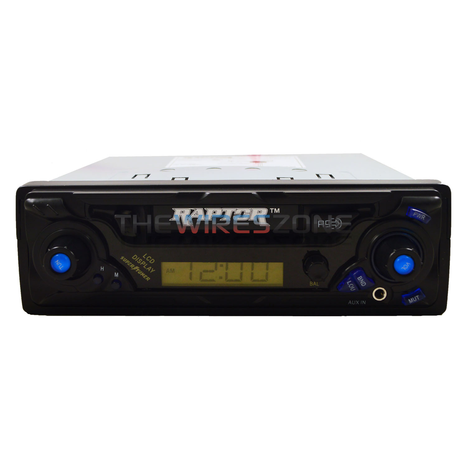 Raptor RP-CST Car Cassette Player Stereo Receiver with AM...