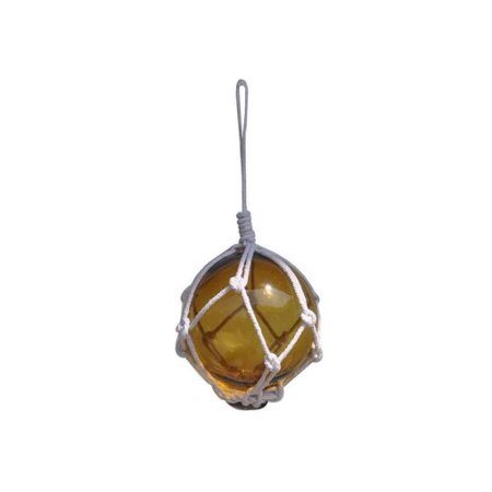 Breakwater Bay Green Glass Ball Netting Christmas Ball Ornament](Glass Monkey Green Bay)
