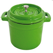 Paderno World Cuisine A176414G Green Mini Pan 5 1/2''