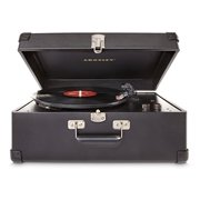 Crosley CR6249A-BK Keepsake Portable USB Turntable with Software for Ripping & Editing Audio (Black)