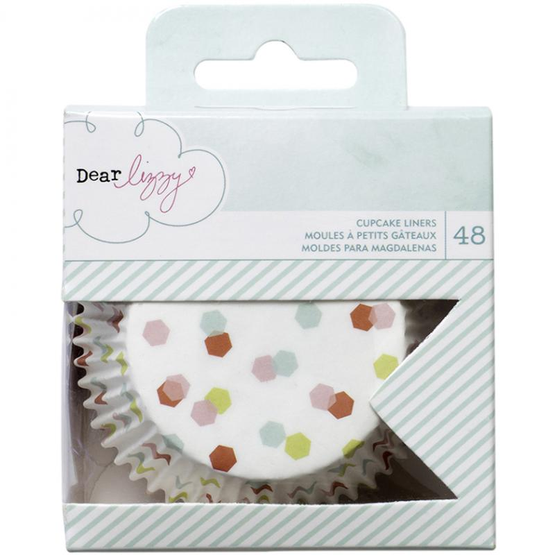 Jenni Bowlin Studio 7317758 Dear Lizzy Fine & Dandy Cupcake Liners 48/pkg-standard Size