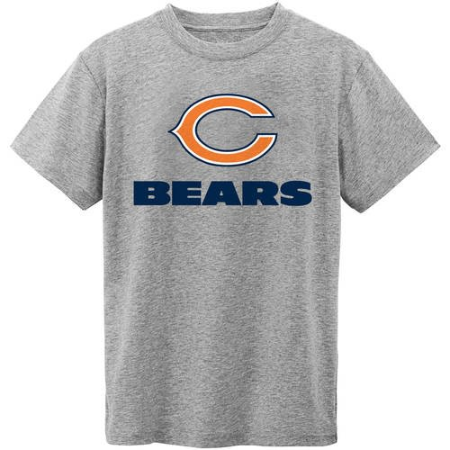 NFL Chicago Bears Youth Short Sleeve Grey Tee