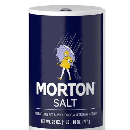 (2 pack) Morton Table Salt, 26 -