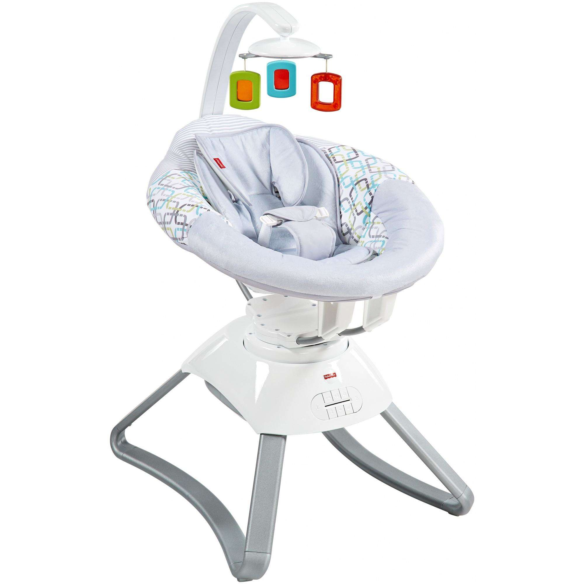 Fisher-Price Soothing Motions Seat - Geo Diamonds