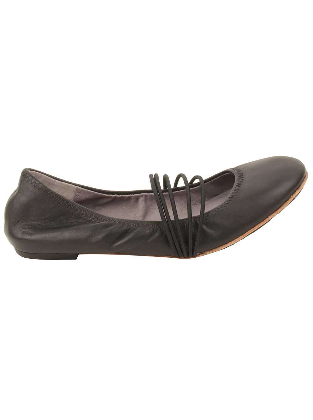 Tsubo Honnor Ballet Flats in Black 7 US