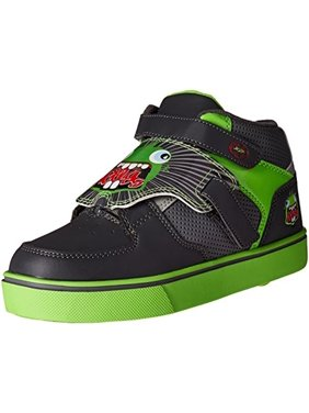 Heelys Boys Tornado X2 Faux Leather Fashion Sneakers