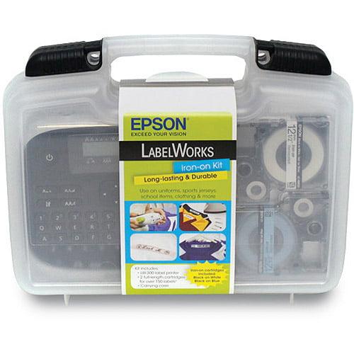 epson labelworks iron-on kit - walmart