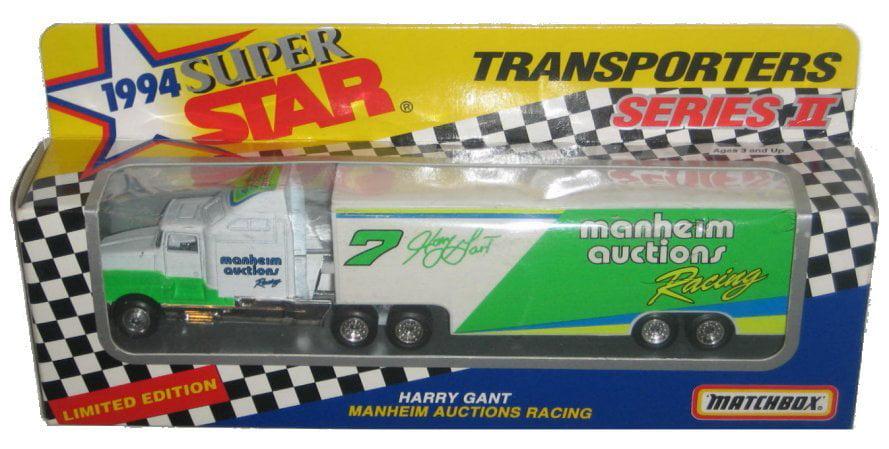 Matchbox Nascar Super Star Transporters (1994) Harry Gant Manheim Auctions Car by Matchbox