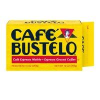 Café Bustelo Ground Coffee, Dark Roast, 10-Ounce Brick