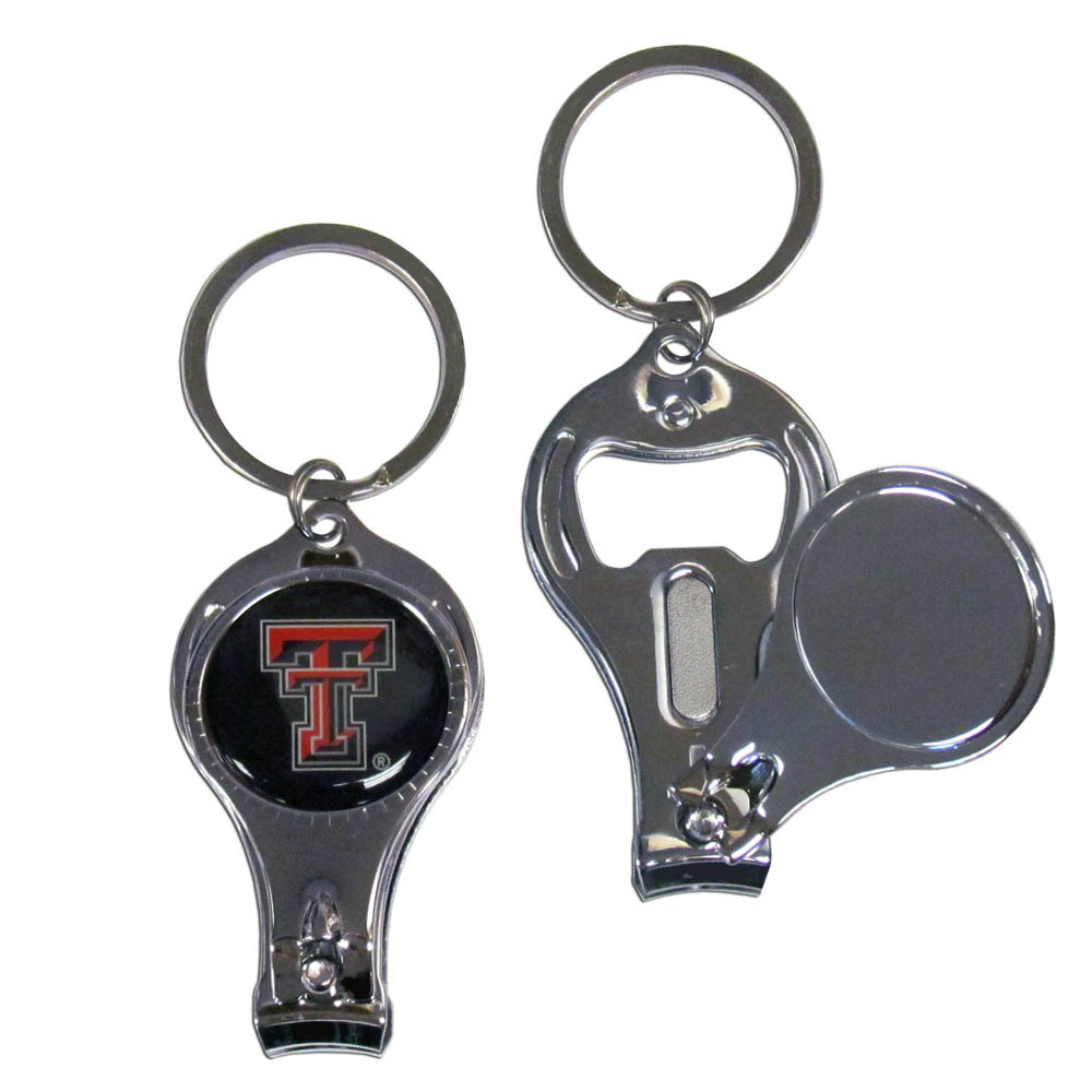Texas Tech Red Raiders Official NCAA 3 in 1 Key Chain by Siskiyou 112478