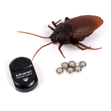 Infrared Remote Control Realistic Fake Cockroach RC Prank Toy Insects Joke Scary Trick For Party Or Christmas&Halloween Gift](Halloween Scary Prank Candy)