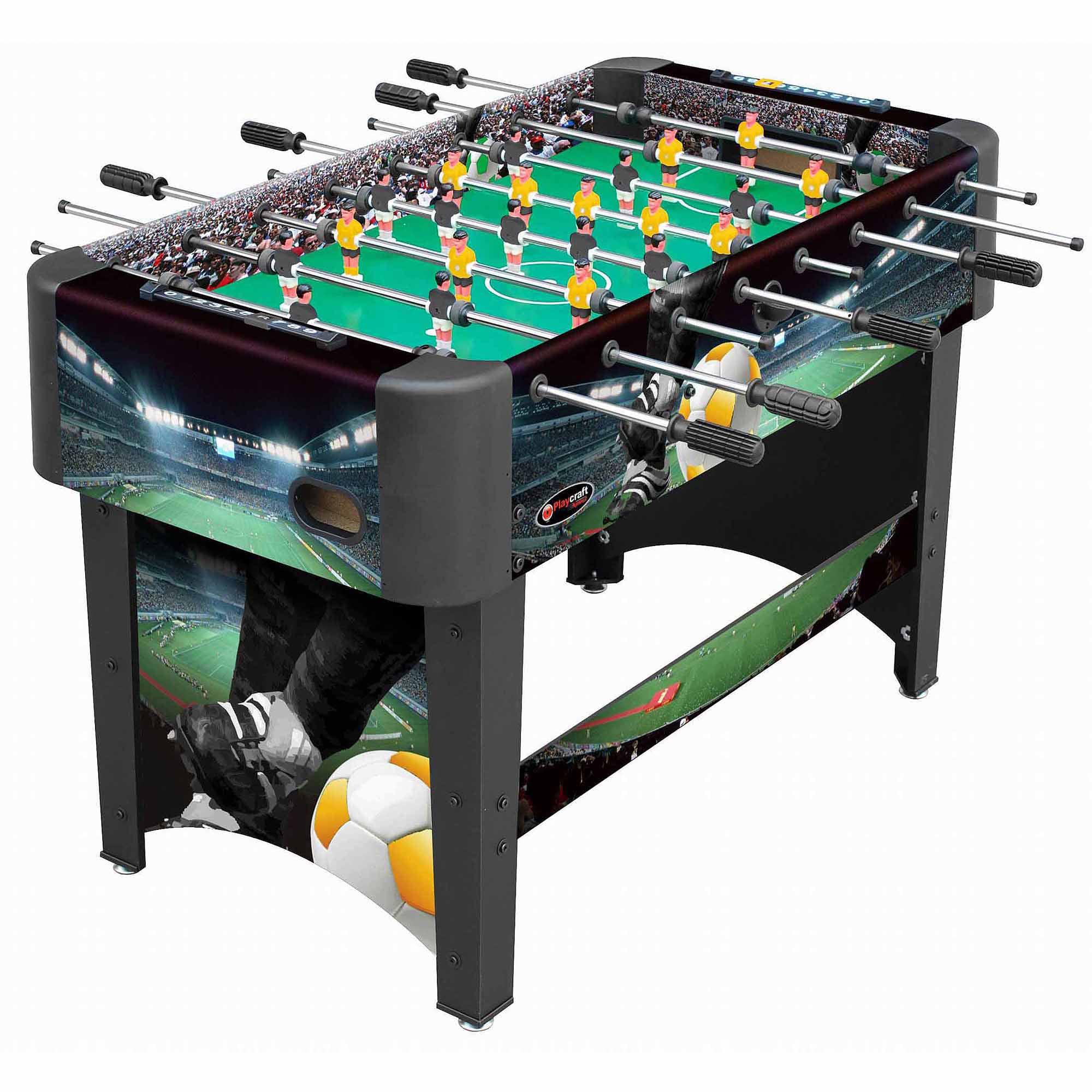 "Playcraft Sport 48"" Foosball Table, Black"