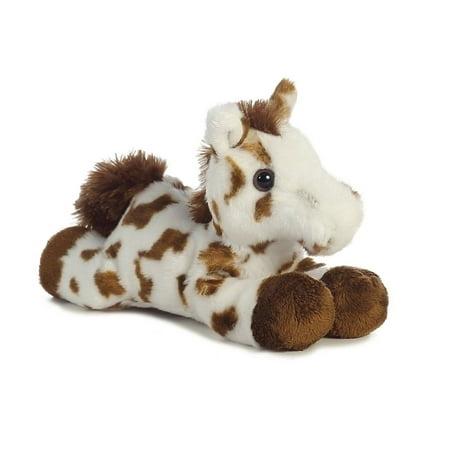Gypsy Brown Horse Mini Flopsie 8 inch - Stuffed Animal by Aurora Plush (31378)