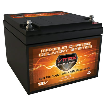"VMAX V28-800S 12V 28ah AGM Scooter Medical Wheelchair Mobility Battery Upgrades Love Lift ALL MODELS 6.5""x6.9""x5"""
