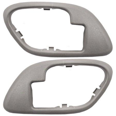 NEW DOOR HANDLE CASE FRONT LEFT & RIGHT FITS 1995 GMC C1500 15708079 15708080