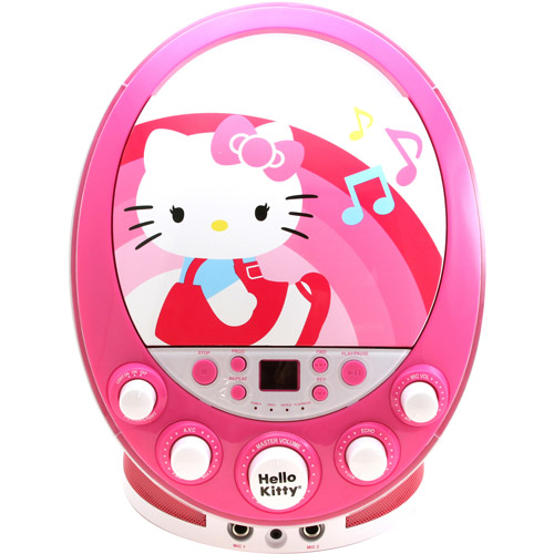 Sakar Hello Kitty CD G Karaoke Machine with Lights