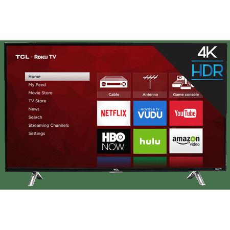 "TCL 43"" Class 4K (2160P) Roku Smart LED TV (43S405)"