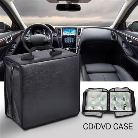 400 Disc Heavy Duty CD DVD Binder Wallets Case with Sturdy (Pp Poly Cd Dvd Case)