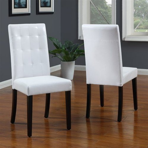 Modus Furniture 2E0366BT Urban Seating Tufted Parsons Chair (Set of 2)
