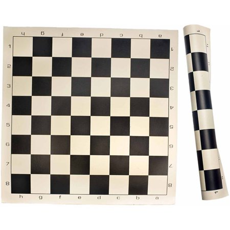 Sterling Games Roll Up Chess Mat, Black (Best Chess Games To Study)