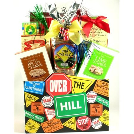 Over The Hill Gifts (Gift Basket Drop Shipping OvThHi-2 Over The Hill, Birthday Gift)
