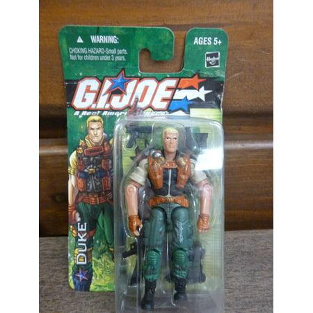 GI Joe Duke Action Figure, SEALED IN PACKAGE By Hasbro