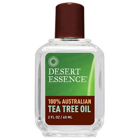 Desert Essence 100% Australian Tea Tree Oil, 2 Fl