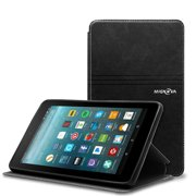 """Fire 7""""Case , Fire 7 inch Mignova Slim Case Synthetic Leather Folio Book Cover Case with Card Pocket and Kickstand Feature for Amazon Fire 7 7th Gen Tablet 2017 Release-Black"""