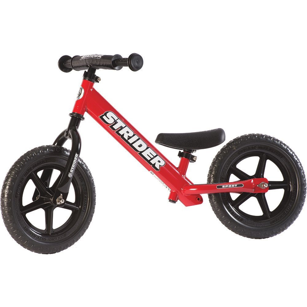 STRIDER 12 Sport Balance Bike, Red