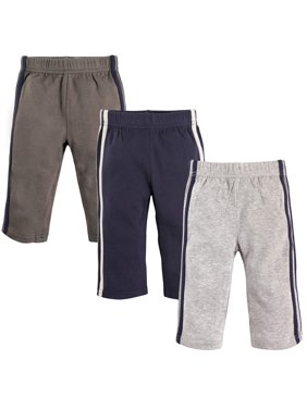 Toddler Boy Athletic Pants, 3-Pack