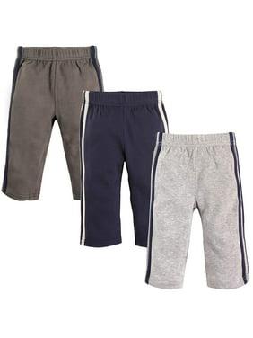 Toddler Boy Athletic Pants, 3-Pack